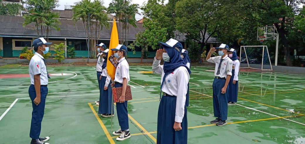 Pelantikan dan Serah Terima Jabatan Pengurus OSIS SMP Trimulia Jakarta